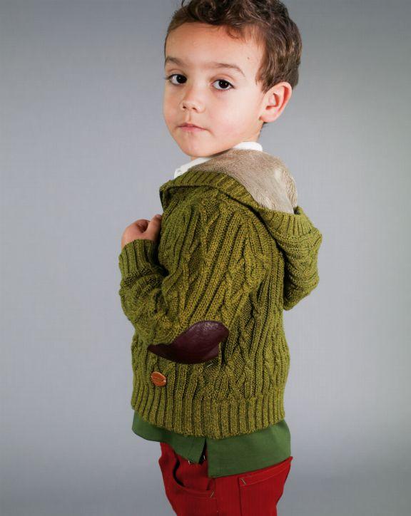 Chaqueta tricot Samuel Caky - Pan con Chocolate