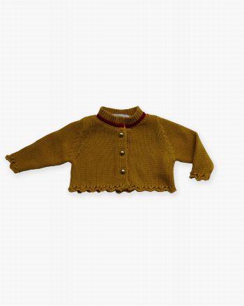 Chaqueta tricot Soledad-a - Pan con Chocolate