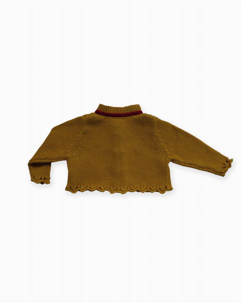 Pan con Chocolate: Chaqueta tricot Soledad-a