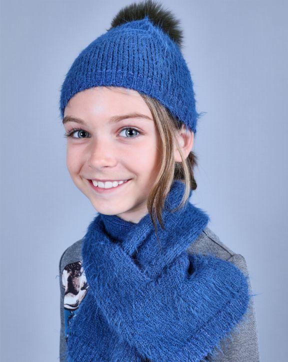 Conjunto tricot Sara Azul - Pan con Chocolate