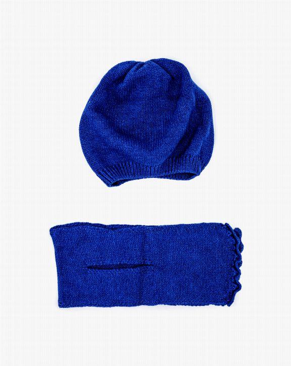 Conjunto tricot Serena Azul - Pan con Chocolate