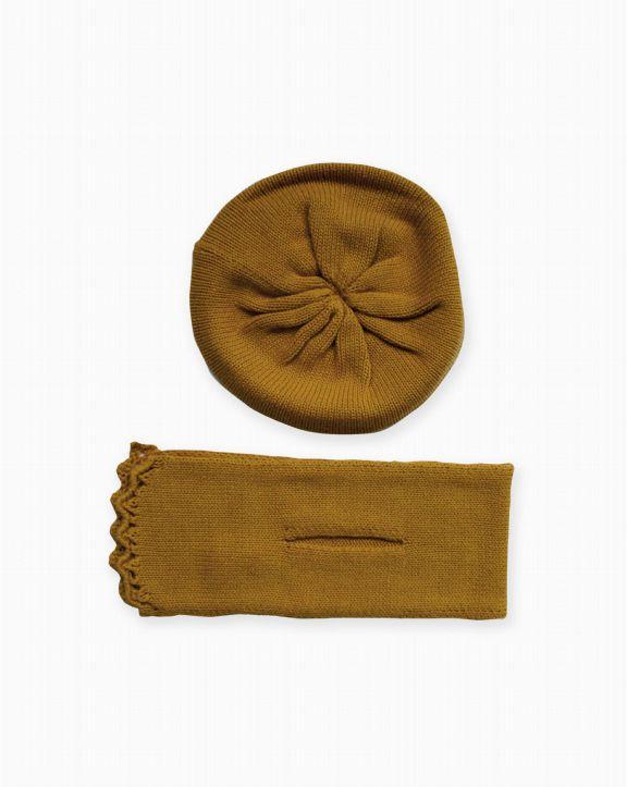 Conjunto tricot Serena Ocre - Pan con Chocolate