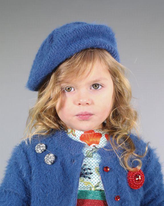 Conjunto tricot Sonia Azul - Pan con Chocolate