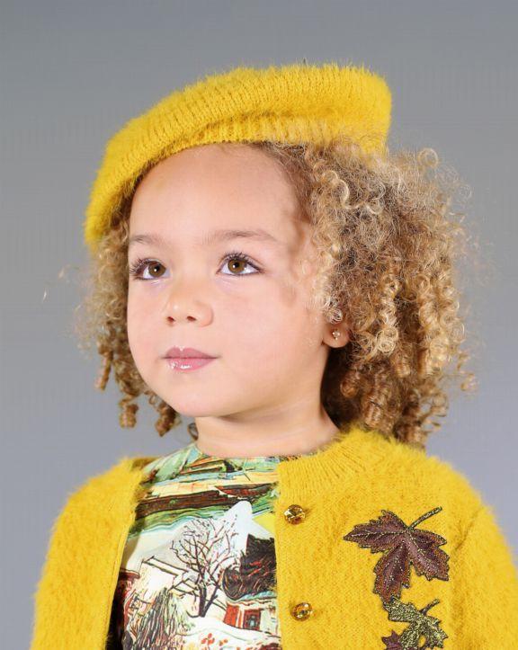 Conjunto tricot Sonia Ocre - Pan con Chocolate