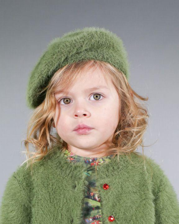 Conjunto tricot Sonia Verde - Pan con Chocolate