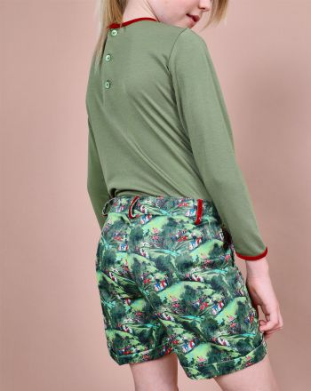 Shorts Flora - Pan con Chocolate