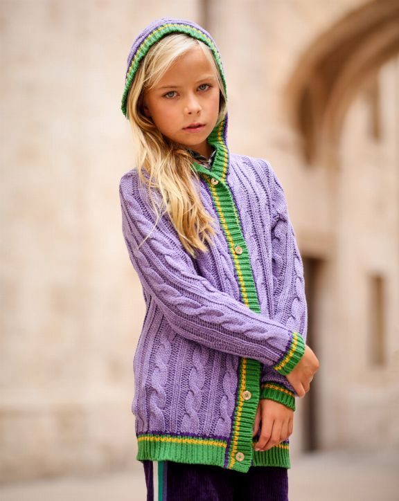 Chaqueta tricot PCH Agra - Pan con Chocolate