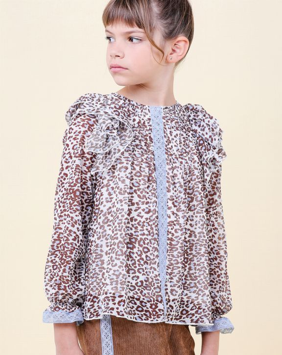 Blusa Thais - Pan con Chocolate