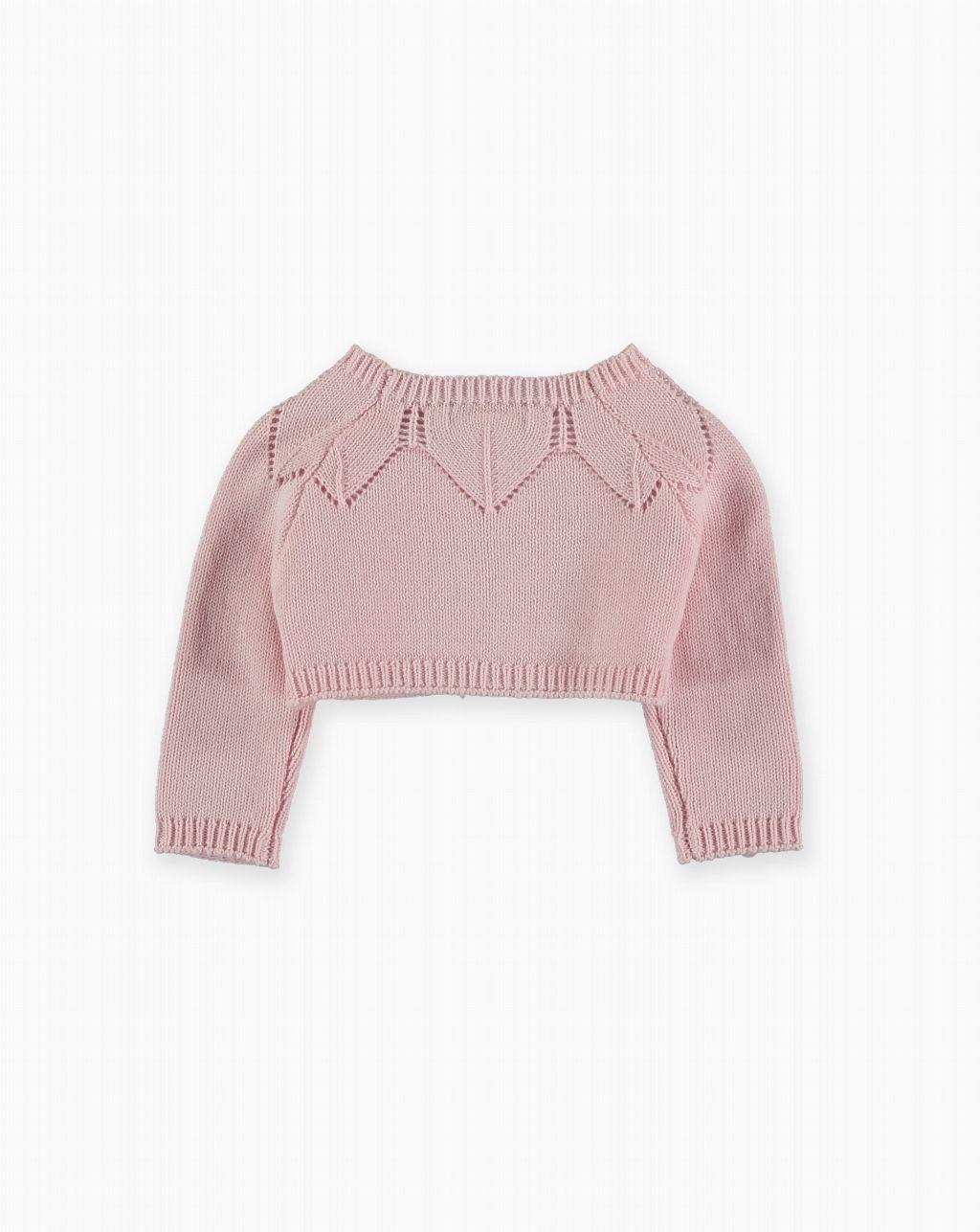 Pan con Chocolate: Chaqueta tricot Velez