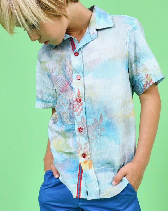 Camisa Aaron - Pan con Chocolate